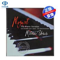 现货【中图音像】莫扎特:钢琴奏鸣曲全集 5CD/内田光子 4683562