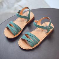 女童凉鞋韩版宝宝夏季新款公主鞋软底露趾凉鞋儿童鞋休闲