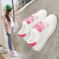 童鞋小白鞋女童鞋子2020春款新款儿童百搭小学生白色透气板鞋