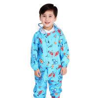 【包邮、注:偏远地区不包邮】儿童雨衣连体长款宝宝男女童学生韩版环保透气连体雨衣雨披
