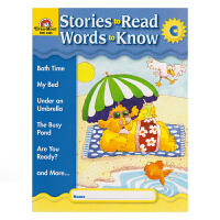 Evan-Moor Stories To Read Words to Know Level C 加州教辅 阅读学词汇系