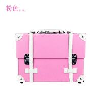 复古系列专业手提化妆箱美妆工具箱大容量化妆箱