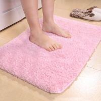 宝优妮毛绒地垫加厚进门客厅垫浴室吸水可机洗地毯卫浴脚垫门厅防尘垫60X150cm