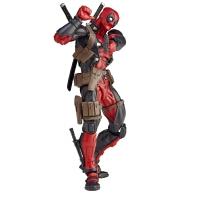死侍 Deadpool 可动换脸手办X战警动漫人偶可动