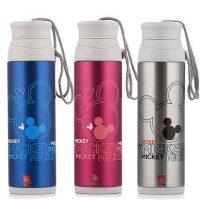迪士尼保温杯不锈钢水杯米奇保温杯儿童学生保温水壶运动水杯水壶