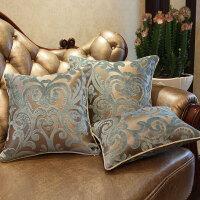 欧式抱枕套不含芯客厅皮沙发靠枕床头靠垫定制大靠背腰枕T