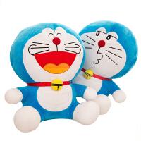 叮当猫机器猫抱枕哆啦a梦蓝胖子毛绒玩具创意生日礼物送女生