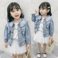 女童牛仔外套2020新款韩版秋装洋气小女孩潮童装衣服儿童休闲上衣