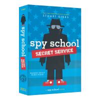 【首页抢券300-100】Spy School Secret Service 间谍学校系列儿童章节书间谍学校秘密任务 英