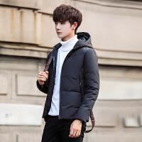 2017冬装新款男士韩版修身连帽棉衣型男小清新加厚休闲棉袄外套潮
