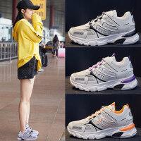 韩版户外运动时尚女鞋百搭休闲小白鞋子运动鞋潮