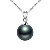 大溪地仿珍珠项链吊坠 女正圆微暇送老婆送妈妈 母亲节礼物