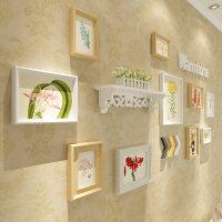欧式实木质照片墙装饰相框组合挂墙创意客厅卧室餐厅背景墙相片墙