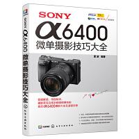 SONY α6400微单摄影技巧大全 单反摄影教材书籍 雷波 索尼单反相机摄影入门教程 照相机使用详解索尼a7S微单拍摄