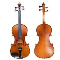 民间艺人手工练习考级小提琴初学者儿童乐器亚光