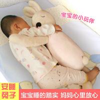 陪睡趴趴兔毛绒玩具宝宝睡觉抱枕儿童节礼物布娃娃公仔安抚小兔子