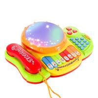 宝宝玩具电话机手机婴儿儿童早教益智音乐1-3岁0小孩6-12个月男女