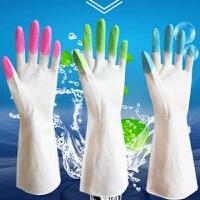 PVC去油污家务手套 水耐用清洁手套