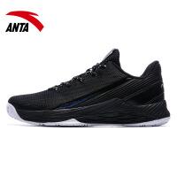 安踏男鞋篮球鞋2018夏季新款网面透气减震耐磨战靴运动鞋11821110