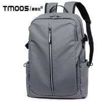 送帽子旅游双肩包潮流男士背包大容量休闲旅行包电脑包学生书包