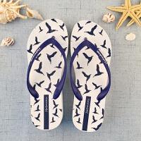 情侣人字拖海边度假休闲时尚户外防滑夹角凉拖鞋夏季海边沙滩拖鞋