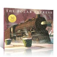 英文原版进口 30周年纪念版 凯迪克金奖绘本The Polar Express 极地特快 经典儿童故事 亲子共读英语图