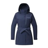 哥伦比亚(Columbia)2018秋冬新品城市户外女装防水热能单层冲锋衣夹克PL2818