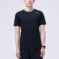 adidas阿迪达斯男子短袖T恤2018新款跑步训练休闲运动服CE0874
