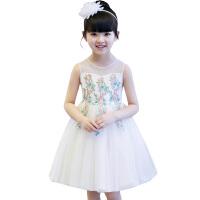 蓬蓬纱春装儿童连衣裙夏季裙子 女童公主裙2018新款韩版小礼服晚