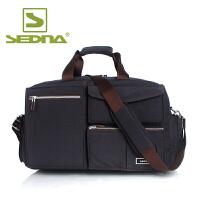 赛德纳 大容量旅行包男女士手提旅行袋出差包商务行李包短途旅游健身包 前置多口袋单肩行李袋