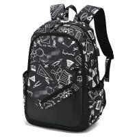 高中学生书包男士时尚潮流韩版休闲双肩包初中大学生旅行校园背包