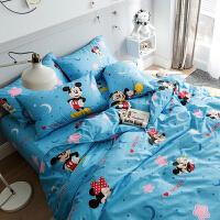 卡通kitty猫四件套小猪佩奇儿童三4件套1.2m佩琪床单被套