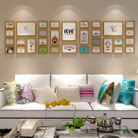 简约现代客厅照片墙相框墙欧式创意背景挂墙相框相片墙大尺寸组合 +冲洗个人照片