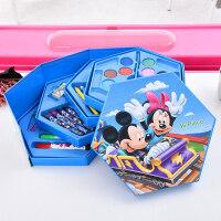 46色水彩笔组合绘画套装 画笔儿童彩笔礼盒文具套装