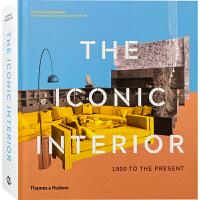 【英文版】THE ICONIC INTERIOR 1900年至今的经典室内设计作品解读分析 室内设计