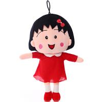 樱桃小丸子可爱小毛绒玩具布娃娃大号抱枕创意生日礼物女孩