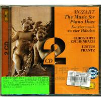 新华书店原装正版古典音乐 459 475-2MOZART:MUSIC FOR PIANO DUET CD
