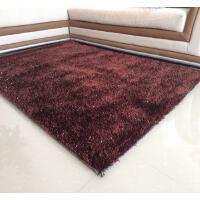 加厚��s�F代客�d茶�椎靥号P室床�毯榻榻米�W式�n���z地毯可定制 咖啡色 加密 2x3米 �F�加亮�z
