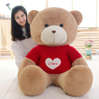 公仔布娃娃毛绒玩具泰迪熊大号1米抱抱熊大熊玩偶生日礼物女1.6米
