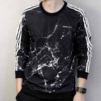 Adidas阿迪达斯 男子 运动卫衣 宽松圆领休闲卫衣 BQ6809