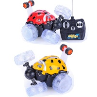 维莱 遥控玩具遥控车 充电音乐发光翻斗车 儿童电动玩具