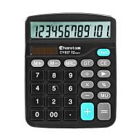 文具计算器语音大按键12位学生财务会计办公用品计算机双电源q6x