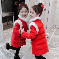 儿童棉衣冬季2018新款刺绣拜年服中国风棉袄女孩新年装