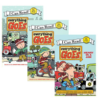 I Can Read My First阶段 everything GOES系列3本套装 男孩子的爱 Henry goes