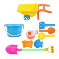 儿童沙滩玩具车套装大号宝宝玩沙子挖沙漏铲子工具婴儿玩具