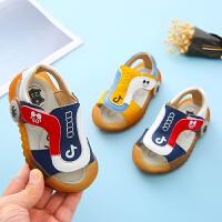 宝宝凉鞋夏季1-3岁男童软底防滑学步小童女婴儿凉鞋