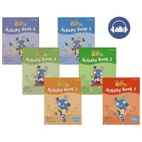 Get Set Go Activity Book 1-6 牛津幼儿英语练习册1-6阶 学生用书 英文原版进口