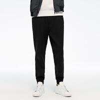GXG联名款 2017冬装 男士黑色休闲束脚裤174802925