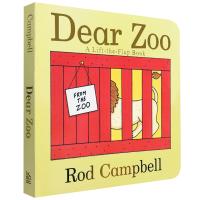 英文原版绘本 亲爱的动物园Dear Zoo 神奇的动物园立体机关纸板翻翻书 吴敏兰廖彩杏书单推荐 第82本启蒙童书0-3