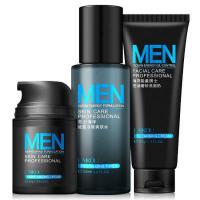 莱蔻男士化妆品套装保湿面霜/爽肤水/洗面奶控油补水深层清洁